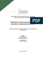 Enoturismo en Chile Oportunidad de Desarrollo y Cresimiento Para Las Viñas