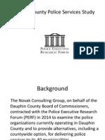 Dauphin County Police Regionalization Study