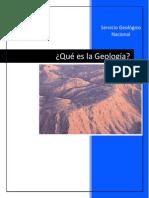 Qué Es La Geología-Servicio Sismologico Nacional