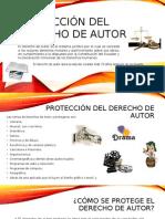 Protección Del Derecho de Autor