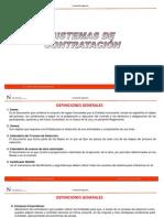 1. Sistemas de Contratación y Modalidades