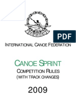 ICF Sprint Rules 2009 With Congress Changes