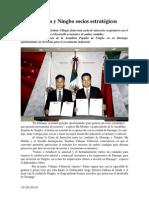 16.06.2014 Comunicado Durango y Ningbo Socios Estratégicos