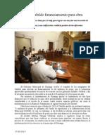 17.06.2014 Avala Cabildo Financiamiento Para Obra