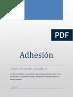 Principios de Adhesión