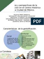 Visiones y perspectivas de la Gentrificación en el CHCDMX