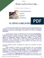 HELENISMO - Ética