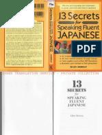 13 Secrets Japanese 1
