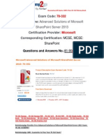 [Braindump2go] 70-332 Study Guide Free Download 81-90
