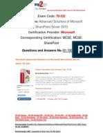 [Braindump2go] Free 70-332 Dumps PDF Download 91-100
