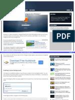 Como Establecer Un Fondo de Inicio Personalizado - Win7