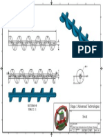 advanced technology - water pump archimedes screw part design 4 drawing  2015 8 5