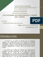 Historia de Los Sistemas Automatizados