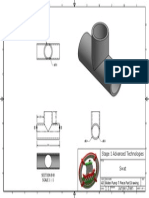 advanced technology - water pump t piece part drawing  2015 8 5
