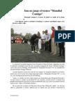 20.06.2014 Pone Esteban en Juego El Torneo Mundial Contigo