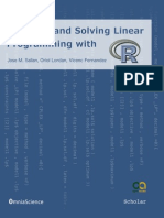 Modeling and Linera Programming With R