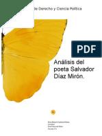 Analisis de Salvador Diaz Miro