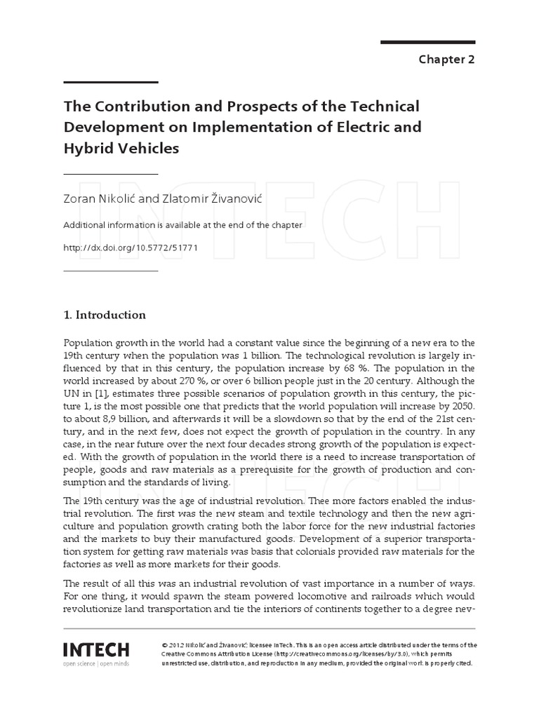 Ch 2 The Contribution And Prospects Of Technical Electric Dc Converters For Vehicles Intechopen Vehicle Motor