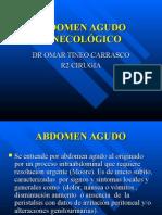 Abdomen Agudo Ginecológico-Del Dr. Tineo