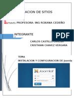 Instalacion y Configuracion de Joomla