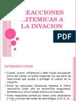 Reacciones Sitemicas a La Invacion...