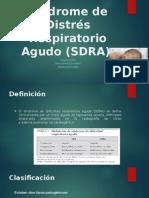 Síndrome de Distrés Respiratorio Agudo (SDRA).pptx