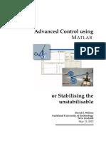 Advanced Control Using Matlab