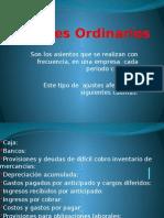 Ajustes-Ordinarios