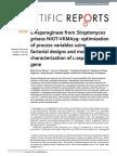 l-Asparaginase from Streptomyces griseus NIOT-VKMA29