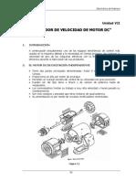 7 Variador de Velocidad de Motor Dc