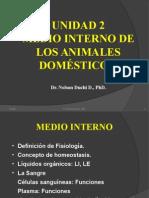 Fisiologia Unidad 2 Medio Interno