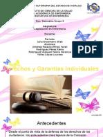 Derechos y Garantias (Legislacion)