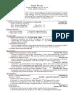 terrana steven resume
