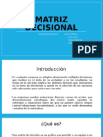 Gestion , matriz decisional de empresa