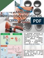 Pruebas Serologicas Ciro Enrique Orozco Rosado MD y Bact.