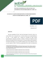 DIMENSIONAMENTO DE UM SISTEMA DE CAPTAÇÃO DE ÁGUA PLUVIAL PARA USO DOMÉSTICO EM SÃO BERNARDO DO CAMPO - SP