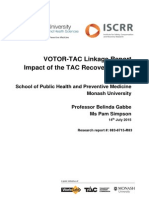 083 VOTOR-TAC Linkage Report - Impact of the TAC Recovery Model