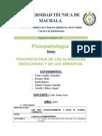Fisiopatologia de Las Glandulas Endocrinas y de Los Aparatos Grupo 3