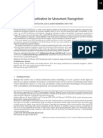 Fast Image Classification for Monument Recognition