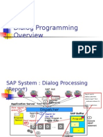 ABAP Dialog Programming Overview