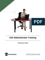 LSO Admintraining