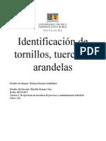 3- Identificaciòn de Tornillos, Tuercas, Arandelas y Seguros(1)