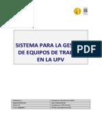 Sistema de Gestión de Equipos de Trabajo y Máquinas