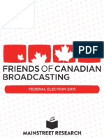 Friends of Canadian Broadcasting Report