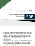Desarrollo de Las AVD