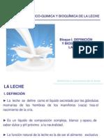 1.- Definicion y Biosintesis de La Leche