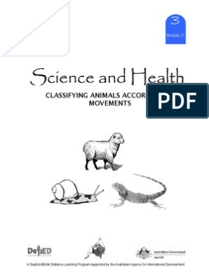 Science 3 DLP 27 - Classifying Animals According to