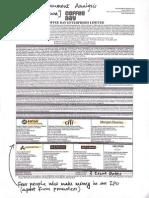 IPO Document Analysis (SafalNiveshak.com)