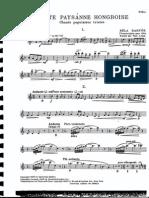 Bartok Arma Suite Paysanne-FL