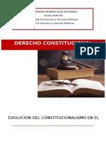 EVOLUCION DEL CONSTITUCIONALISMO EN EL PERU